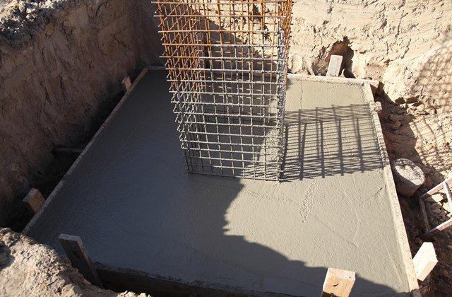 Фундамент для быстровозводимых конструкций
