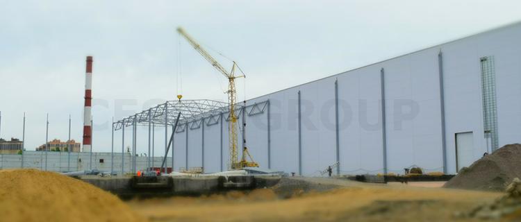 Реконструкция складски сооружений